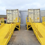 "PORTABLE LOADING DOCK & RAMP COMBO<span class=""tagline"">Combo Series </span>"
